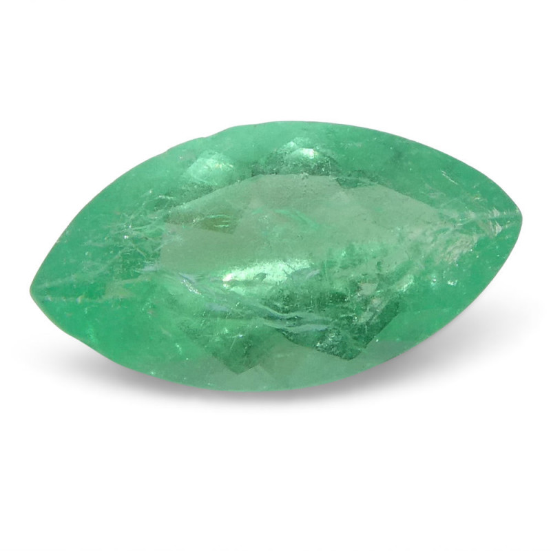 0.72 ct Marquise Emerald Colombian