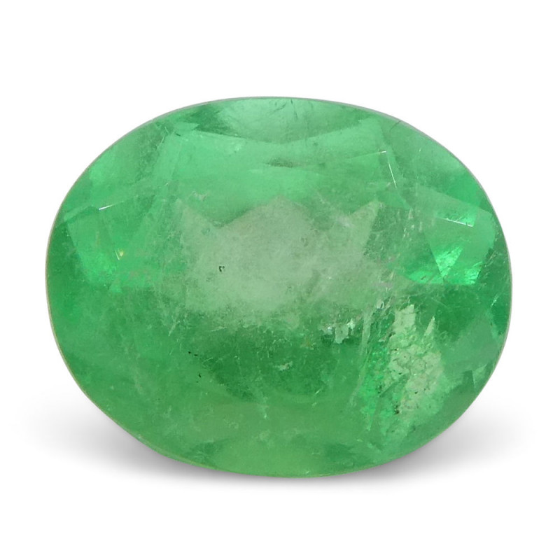0.99 ct Oval Emerald Colombian