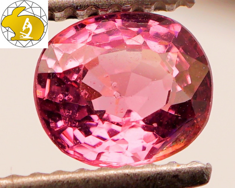Cert. Unheated 0.97 CT Purple Mahenge Spinel FREE Shipping!