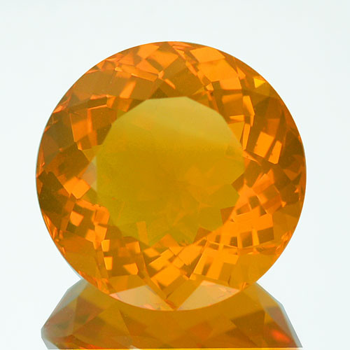 4.64Ct Natural Mexican Fire Opal Round