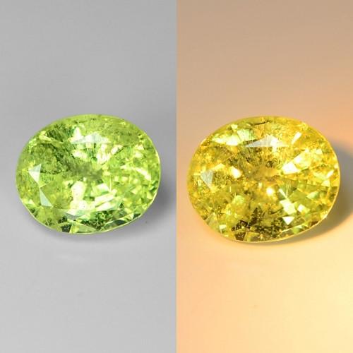 1.39 Cts Very Rare Yellowish Green Color Natural Chrysoberyl Gemstones