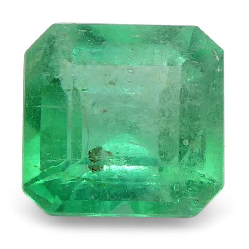 0.58 ct Square Emerald Colombian