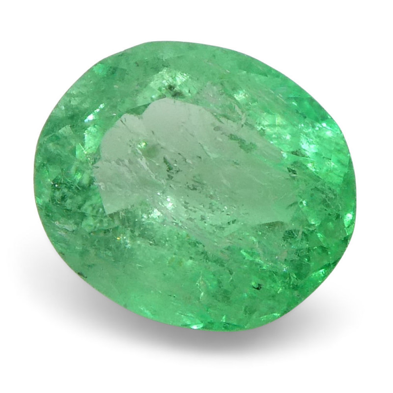 0.78 ct Oval Emerald Colombian