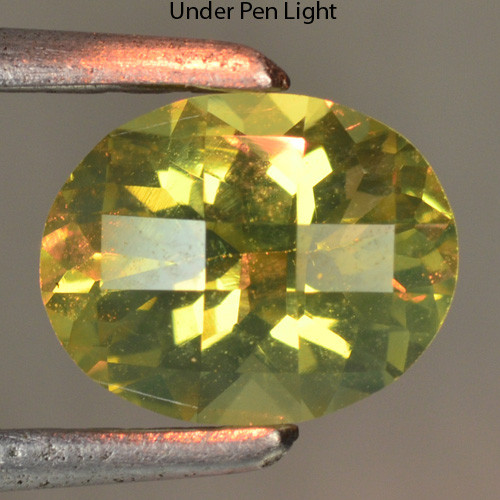 0.94 CTS UNHEATED NATURAL EARTH MINED COLOR CHANGE DIASPORE GEMSTONE