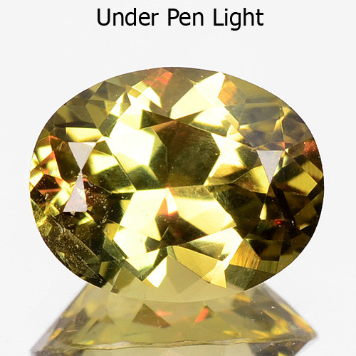 1.30 CTS UNHEATED NATURAL EARTH MINED COLOR CHANGE DIASPORE GEMSTONE