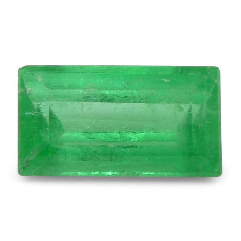 0.83 ct Baguette Emerald Colombian