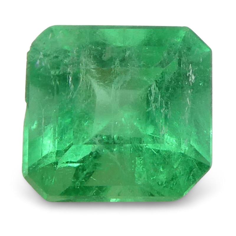 0.62 ct Square Emerald Colombian