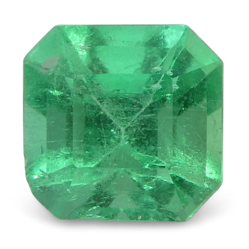 0.53 ct Square Emerald Colombian