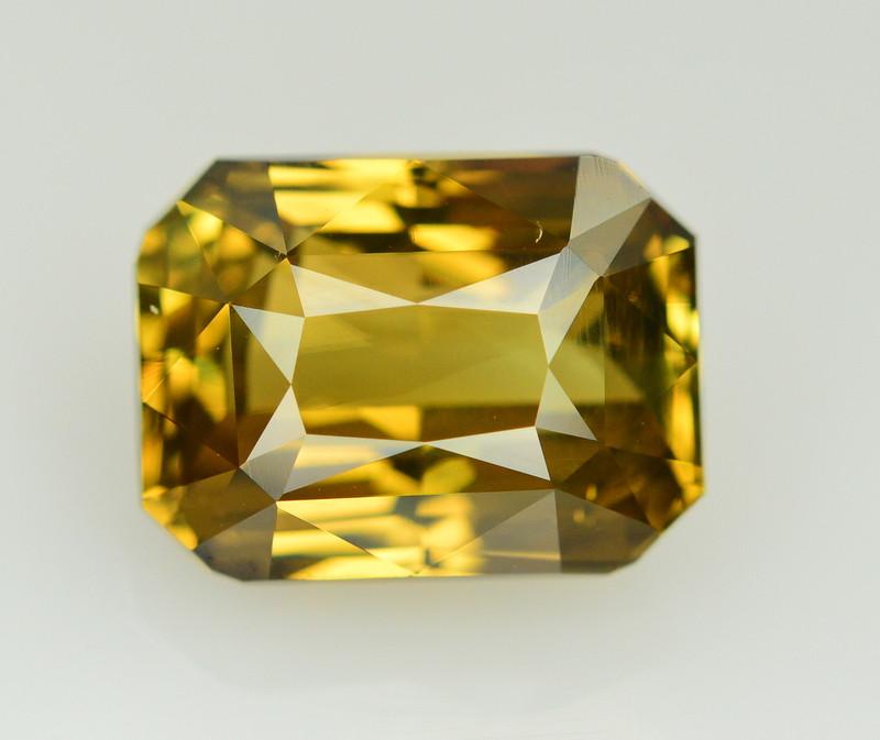GIA Cert~7.06 Ct Natural Color Change Alexanderite Gemstone