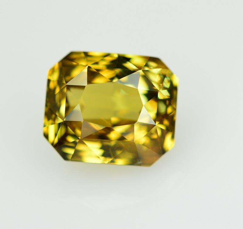 GIA Cert~4.73 Ct Natural Color Change Alexanderite Gemstone