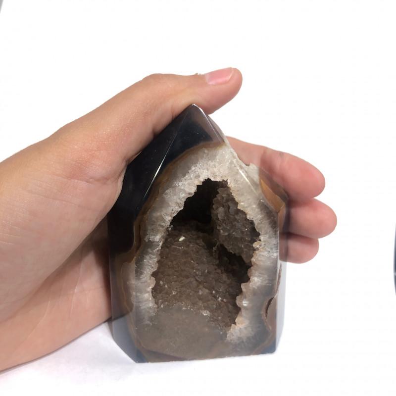 1325 cts Terminated Point  Brazilian Agate Specimen CF 126