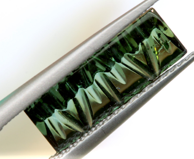 2.76-CTS  TOURMALINE   CARVED  PG-3219