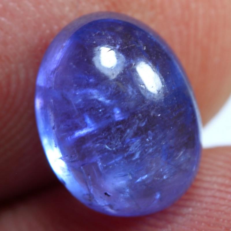 4.40cts Sparkle Blue Tanzanite Gemstone