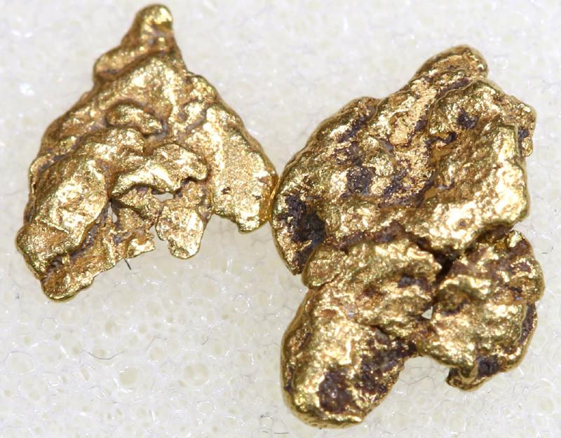 1.28CTS ALASKAN MONTANA CREEK GOLD NUGGET TBG-3297