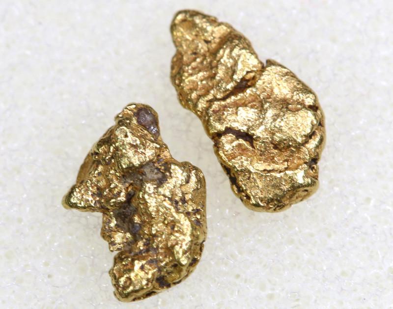 1.5CTS ALASKAN MONTANA CREEK GOLD NUGGET TBG-3302