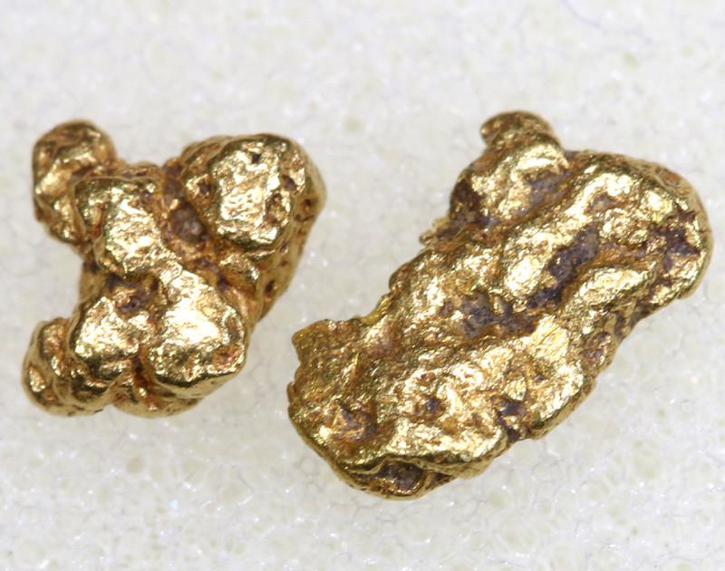 1.74 CTS ALASKAN MONTANA CREEK GOLD NUGGET TBG-3303
