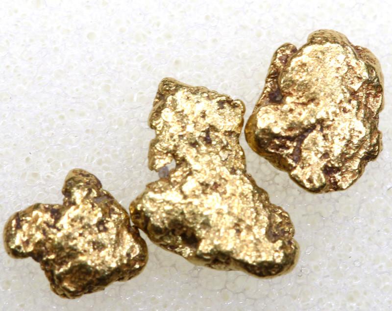 2.15 CTS ALASKAN MONTANA CREEK GOLD NUGGET TBG-3308