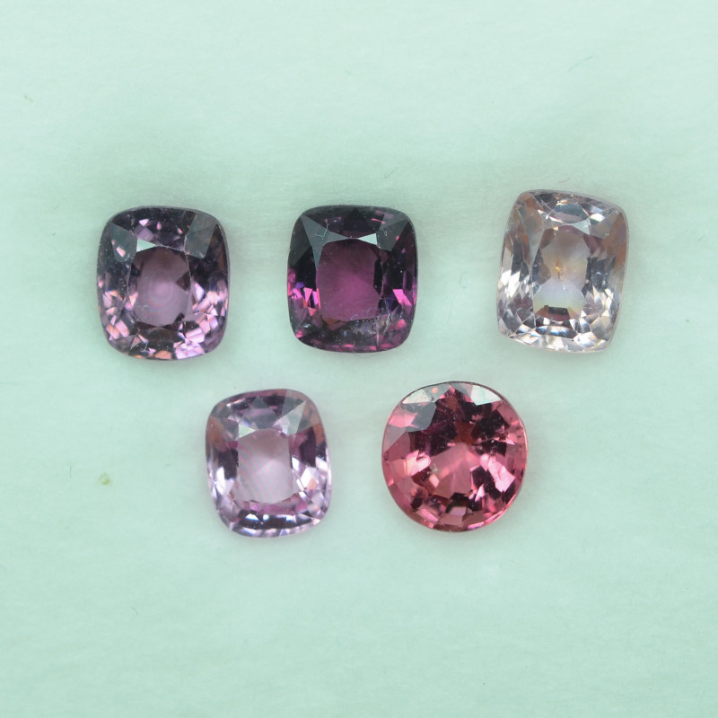 5.012 Cts Stunning Lustrous Burmese Spinel Parcel