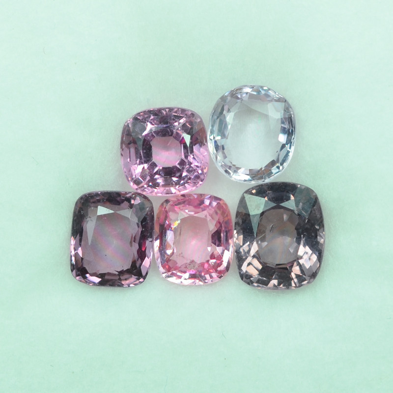 5.341 Cts Stunning Lustrous Burmese Spinel Parcel