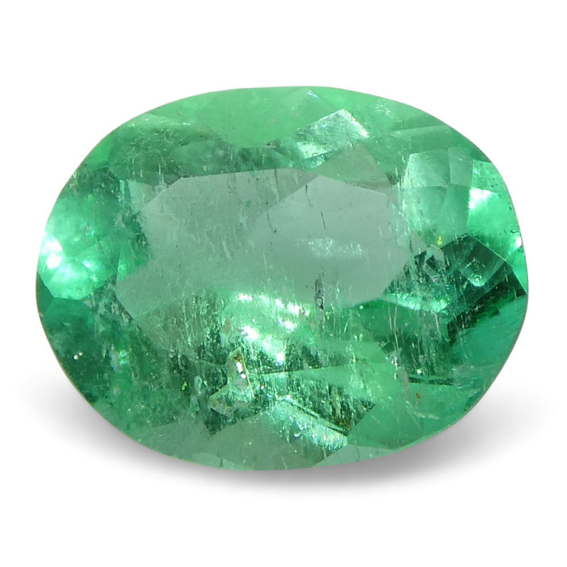 0.61 ct Oval Emerald Colombian