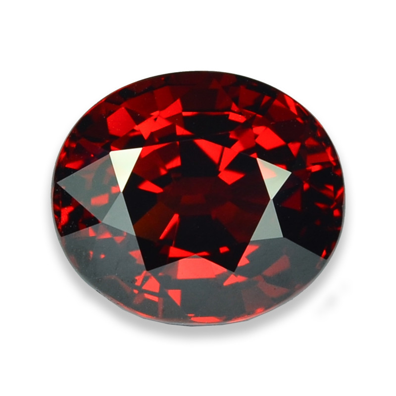 9.97 Cts Stunning Lustrous Red Spessartite Garnet