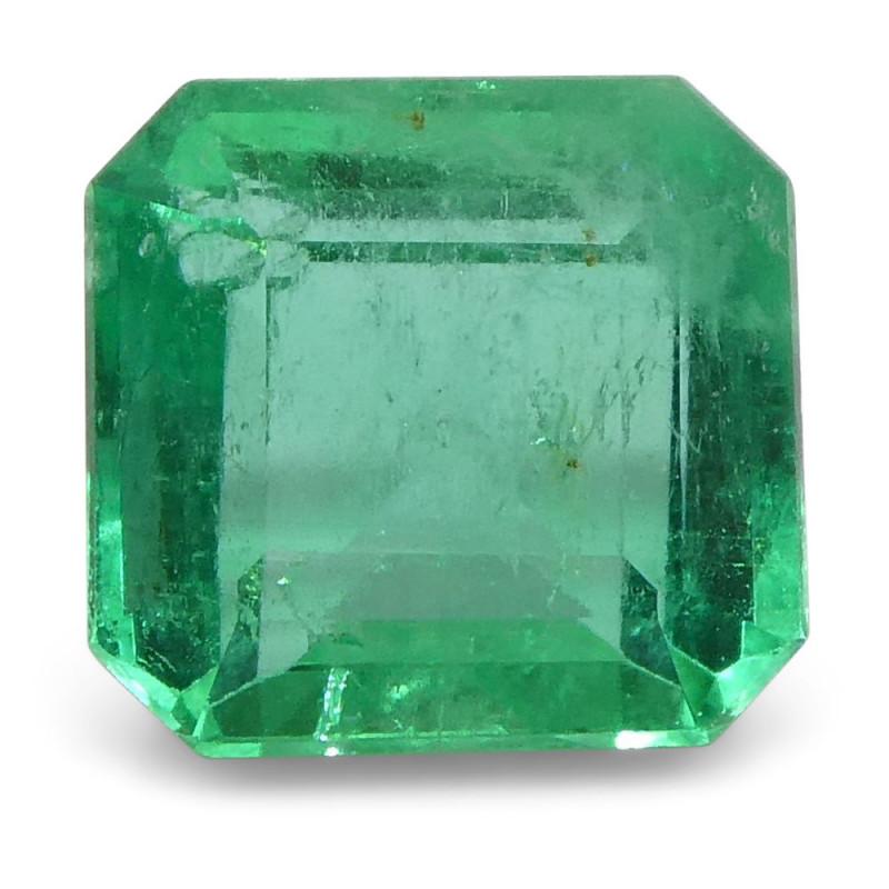 0.75 ct Square Emerald Colombian