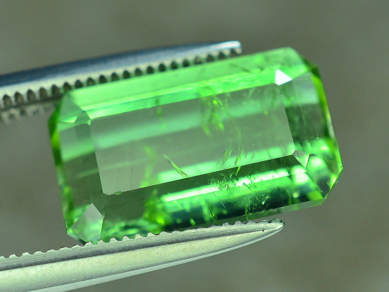 Top Grade 4.80 ct Lagoon Green Tourmaline Afghanistan