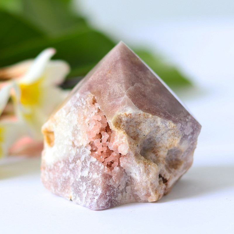 1315 Cts Pink Amethyst terminated Point CF 188