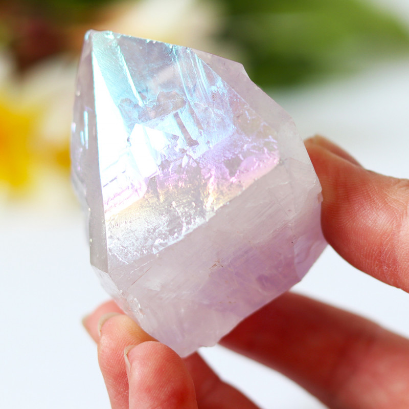 640 Cts Treated Amethyst terminated Point CF 194