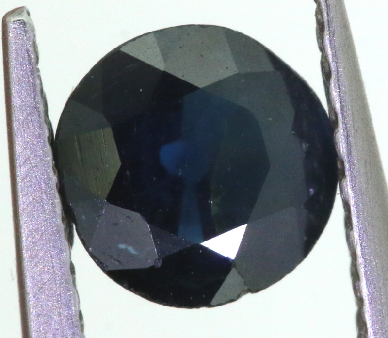 0.45 CTS AUSTRALIAN  BLUE SAPPHIRE  FACETED PG-3224