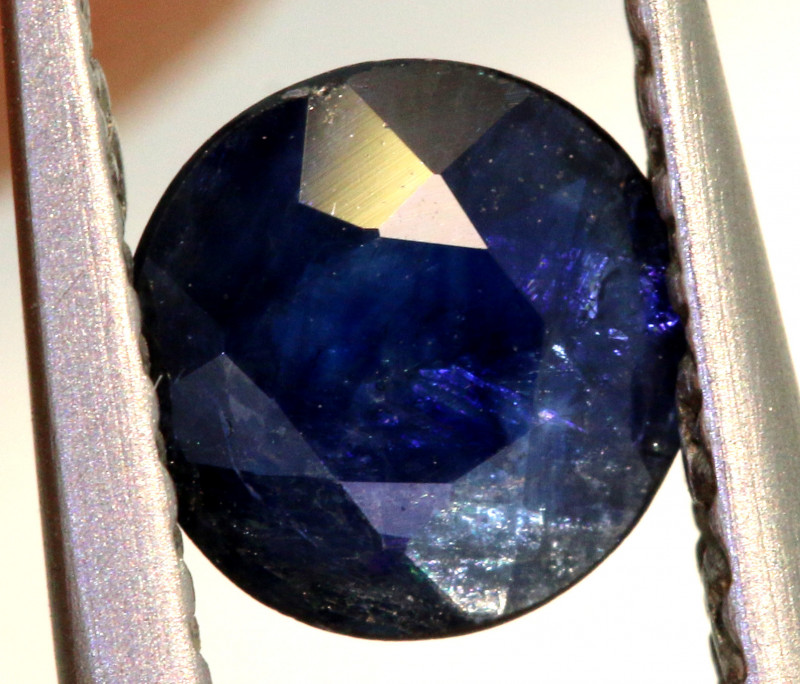 0.5 CTS AUSTRALIAN  BLUE SAPPHIRE  FACETED PG-3226