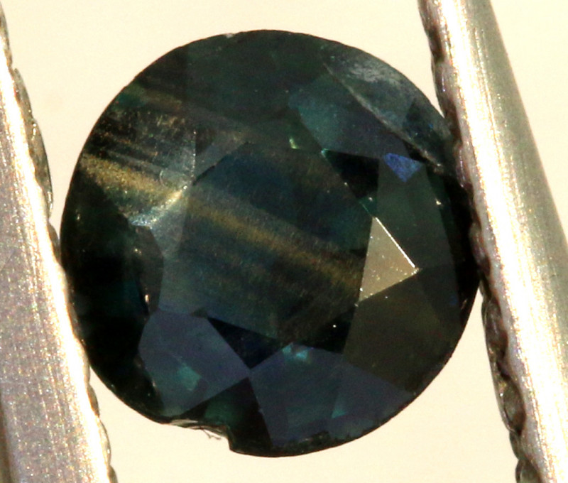 0.40 CTS AUSTRALIAN  BLUE SAPPHIRE  FACETED PG-3227
