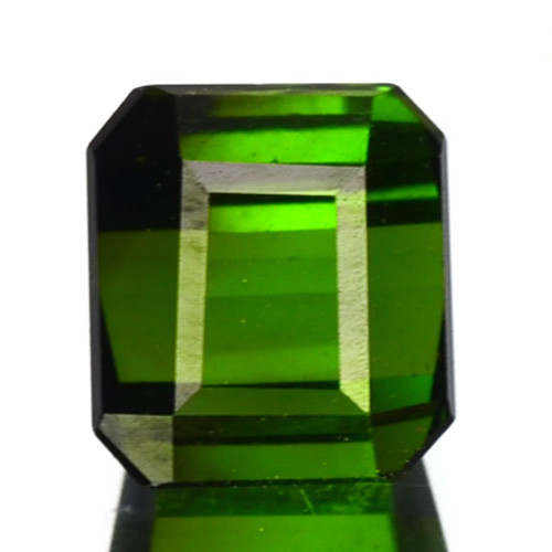 1.57 Cts Natural Neon Green Tourmaline Octagon Cut Nigeria