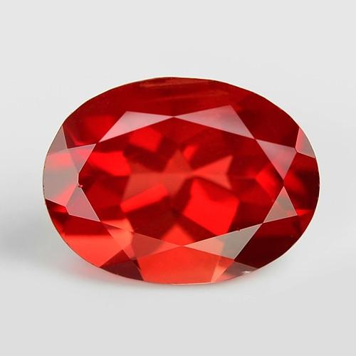 RED ANDESINE NATURAL RARE GEMSTONE