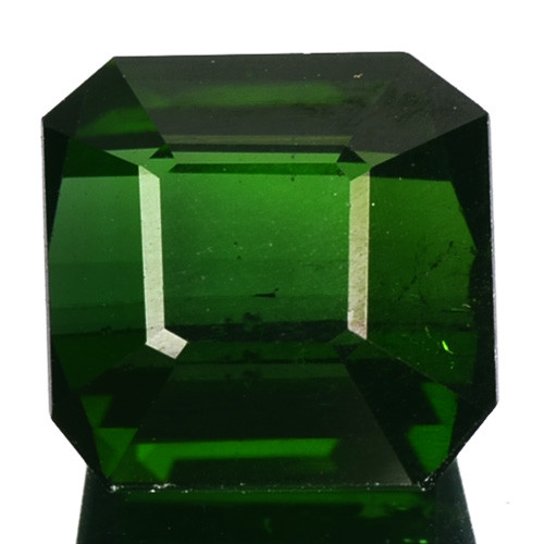 3.60 Cts Natural Neon Green Tourmaline Octagon Cut Nigeria