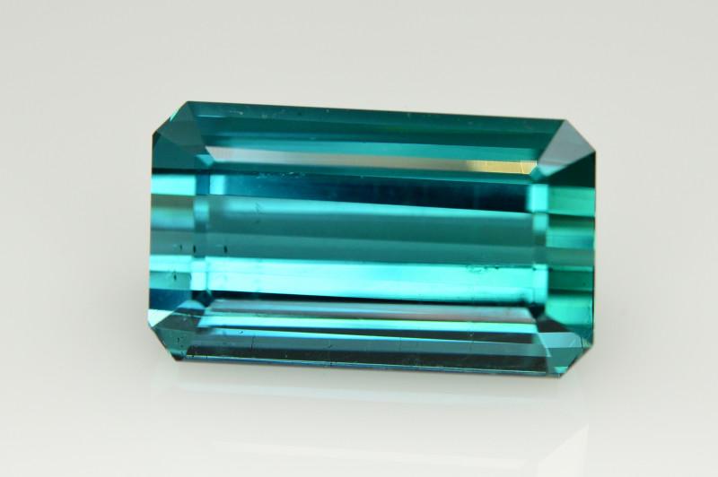 Magnificent Color 18.35 Ct Natural Indicolite Tourmaline