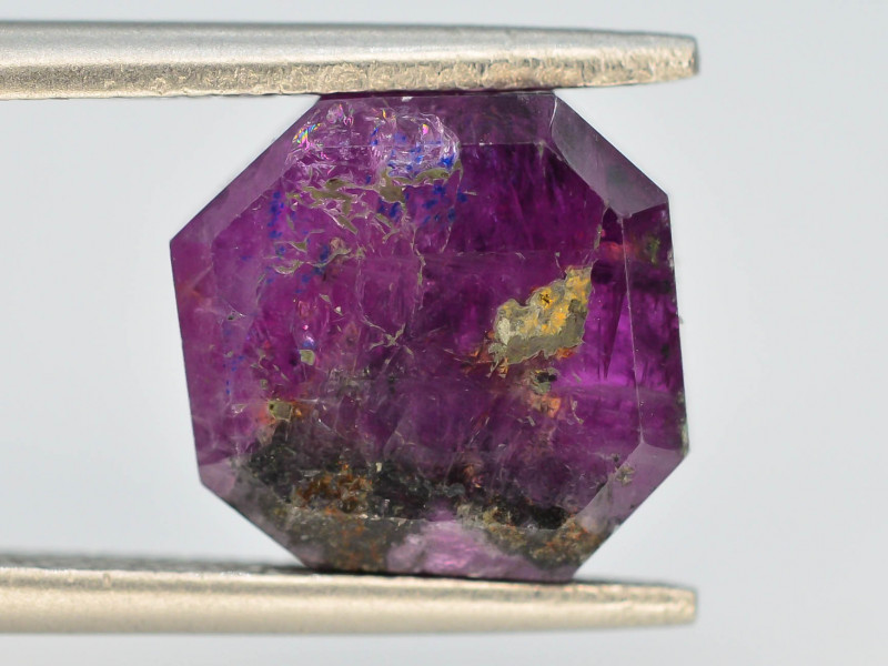 Rarest 5.60 ct Trapiche Pink Kashmir Sapphire ~ AD