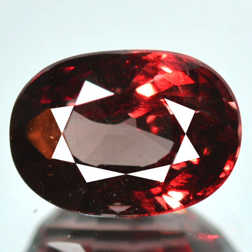 ~UNTREATED~ 2.57 Cts Natural Color Change Garnet Oval Tanzania