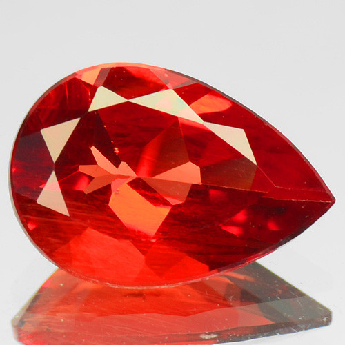 1.46 cts RARE RED ANDESINE NATURAL RARE GEMSTONE