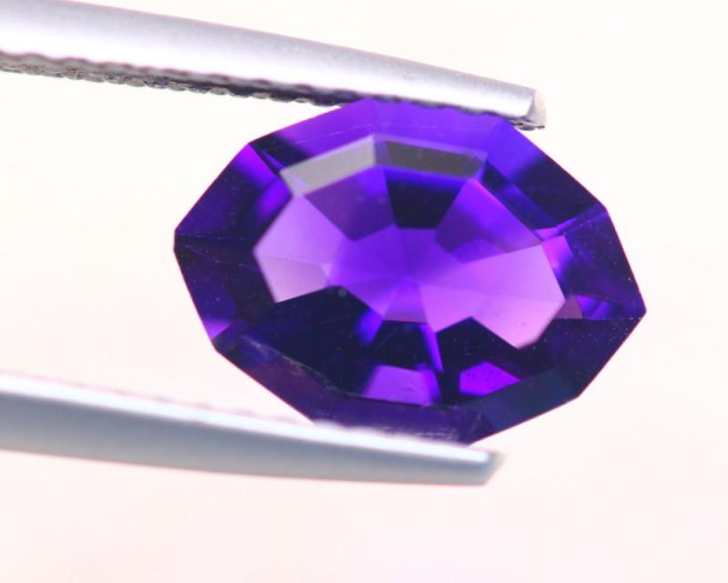 1.55Ct Natural Purple Amethyst Fancy Cut Lot Z538