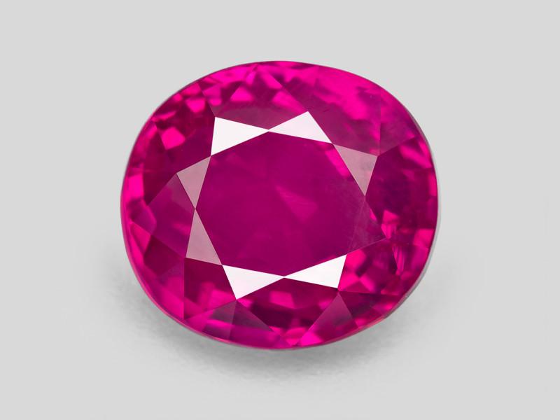 Ruby, 4.08ct - Mined in Burma   Certified by GRS
