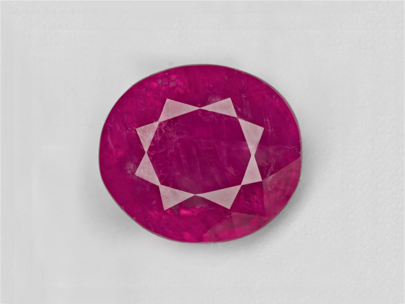 Pink Sapphire, 5.03ct - Mined in Burma   Certified by GIA