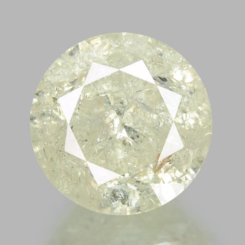 1.20 CTS UNTREATED YELLOWISH WHITE NATURAL LOOSE DIAMOND