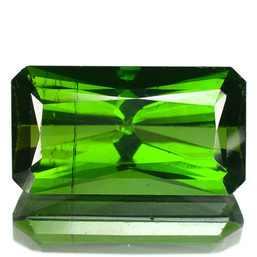 2.60 Cts UN HEATED GREEN COLOR NATURAL TOURMALINE LOOSE GEMSTONE