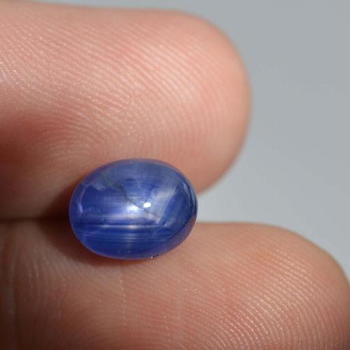 6.94Ct Natural Six rays Blue star sapphire Sri Lanka