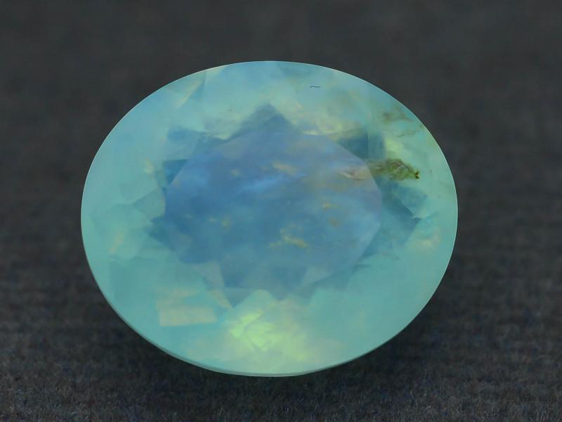 Peruvian Blue Opal 7.19 ct Untreated/Unheated SKU.6