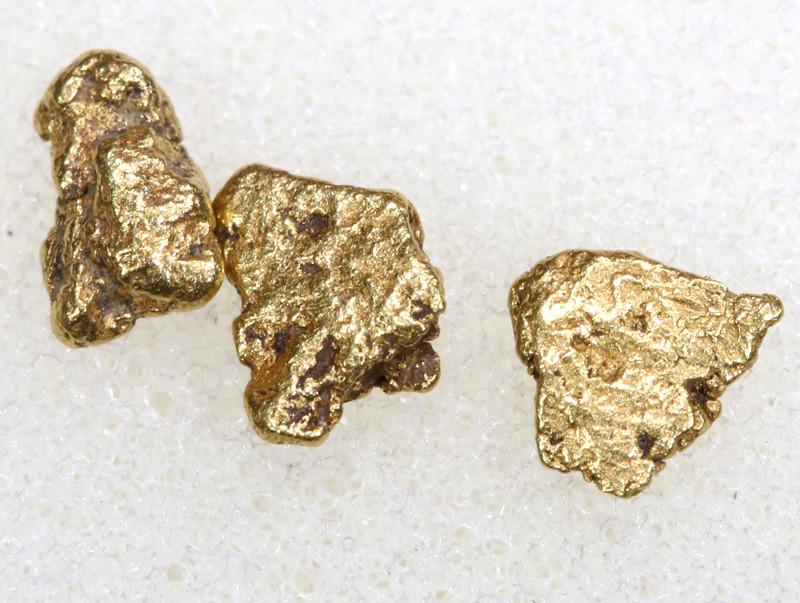 1.67CTS ALASKAN MONTANA CREEK GOLD NUGGET TBG-3314