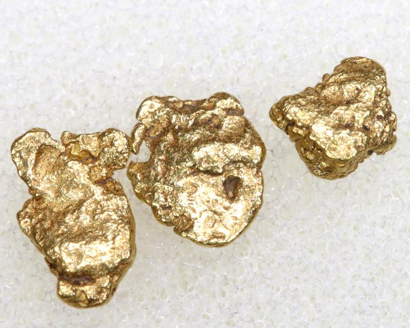 1.58 CTS ALASKAN MONTANA CREEK GOLD NUGGET TBG-3317