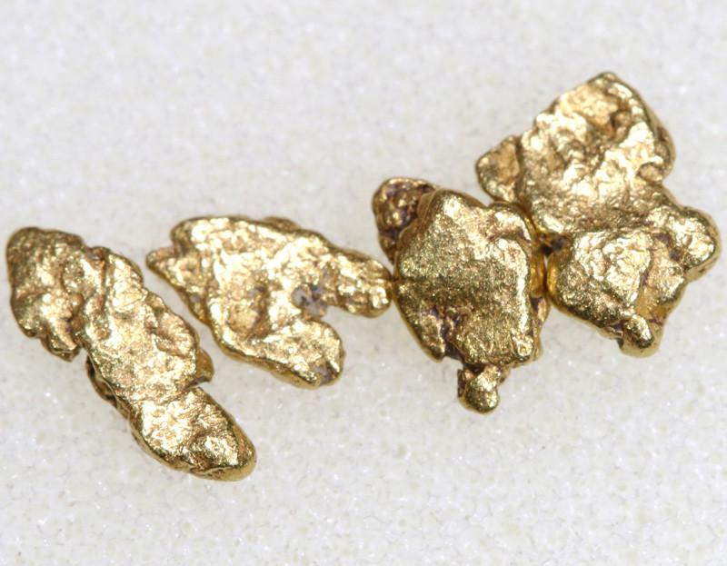 2.39 CTS ALASKAN MONTANA CREEK GOLD NUGGET TBG-3349