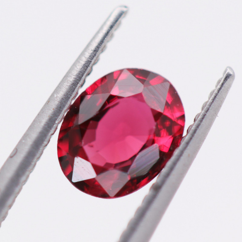 0.380 CTS  FIREY RED SPINEL FROM KENYA [S-SAFE 332]